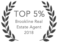 Top 5% of Brookline agents in 2018