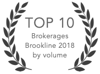 Top 10 Brokerage Brookline 2018
